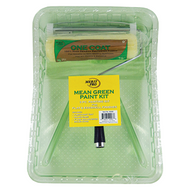 Merit Pro 00583 3-Piece Mean Green 9-Inch Paint Kit