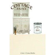 Creme Brulee | Cottage Paint: A Flat Furniture Paint That Looks Like Clay