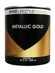 Golden Lifestyle Finishes Metallic Gold Paint