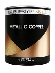 Golden Lifestyle Finishes Metallic Copper Paint