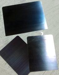 "Blue Steel Blade Spatulas, 3.5"" x .012, 5.9"" x .012"