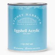 Sydney Harbour Premium Zero VOC Acrylic Paint Eggshell Finish