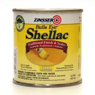 Zinsser Bulls Eye 3 LB Clear Shellac 1/2 Pint