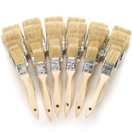 36-Piece Chip Brush White China Bristle Set