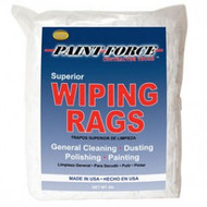 Paint Force Bright White Knit Rags 4 Lb.