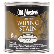 Old Masters Wiping Stain Vintage Burgundy