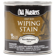 Old Masters Wiping Stain Rich Mahogany