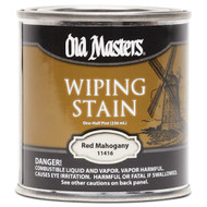 Old Masters Wiping Stain Red Mahogany