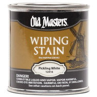 Old Masters Wiping Stain Pickling White