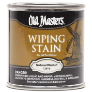 Old Masters Wiping Stain Natural Walnut