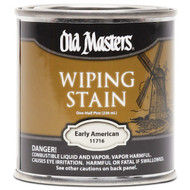 Old Masters Wiping Stain Early American