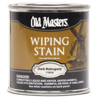 Old Masters Wiping Stain Dark Mahogany