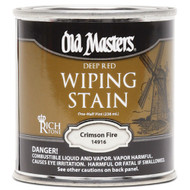 Old Masters Wiping Stain Crimson Fire