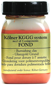 Kolner Red Fond Burnishing Clay For Gilding
