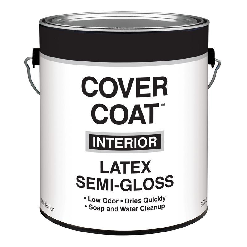 valspar cover coat interior latex paint semi gloss. Black Bedroom Furniture Sets. Home Design Ideas