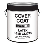 Valspar Cover Coat Interior Latex Paint Semi-Gloss