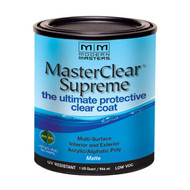 Modern Masters MasterClear Supreme Matte - Interior Exterior UV Blocking Varnish
