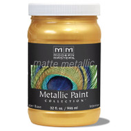 Modern Masters Matte Metallic Paint Gold Rush MM658