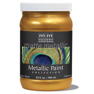 Modern Masters Matte Metallic Paint Olympic Gold MM659