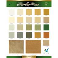 Meoded Tonachino Firenze Color Chart