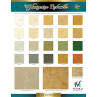 Meoded Marmorino Tintoretto Color Chart