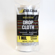 Waterpoof Plastic Drop Cloth For Interior and Exterior Use 9' x 12' 1 mil