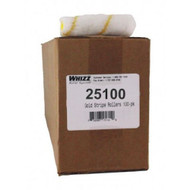 Whizz 4-Inch Gold Stripe Premium Fabric Paint Roller Cover (100 PACK)