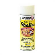 Zinsser Bulls Eye Shellac Finish and Sealer Clear 12oz Aerosol Spray