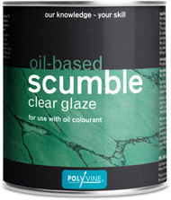 Polyvine Oil Based Scumble Paint Glaze