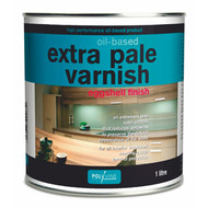Polyvine Oil-Based Extra Pale Varnish - Dead Flat or Eggshell