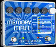 Electro-Harmonix Stereo Memory Man with Hazarai Digital Delay/Looper Pedal