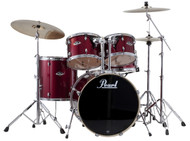 Pearl Export EXX725/C-91 Red Wine 5pc Kit w/Hardware