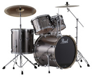 Pearl Export EXX725/C-21 Smokey Chrome 5pc Kit w/Hardware
