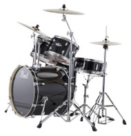 Pearl Export EXX725/C-31 Jet Black 5pc Kit w/Hardware