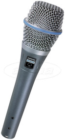 Shure Beta 87A Supercardioid Condenser Vocal Microphone
