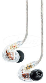 Shure SE535-CL Inner Ear Sound Isolating Earphones, Clear