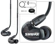 Shure SE215-K Sound Isolating In-Ear Earphones, Translucent Black