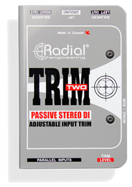 Radial Trim-Two™ Stereo DI with Level Control