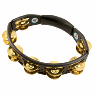 LP Cyclops® Jingle Tambourine, Brass Jingles, Black, Hand Held LP170