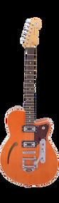 Reverend Club King RT Rock Orange Bigsby w/hard case