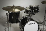 LUDWIG BREAKBEATS LC179-016 BLACK SHELL PACK
