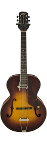 Gretsch G9555 New Yorker Archtop with Pickup Semi-Gloss Vintage Sunburst