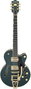 Gretsch G6659TG Players Edition Broadkaster Jr with Case Cadillac Green