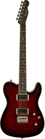 Fender Special Edition Custom Telecaster FMT HH Black Cherry Burst