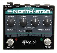 Radial Engineering Tonebone North-Star Overdrive and Power Booster