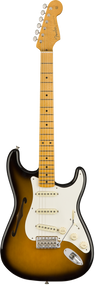 Fender Eric Johnson Stratocaster Thinline 2-Color Sunburst with Case