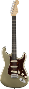 Fender American Elite Stratocaster Ebony Fingerboard Champagne with Case