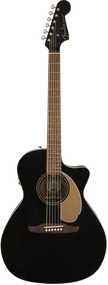 Fender Newporter Player Acoustic Jetty Black