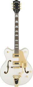 Gretsch G5422TG Electromatic Hollow Body with Bigsby Snowcrest White
