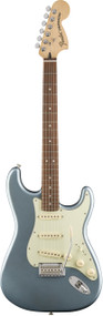 Fender Deluxe Roadhouse Strat Mystic Ice Blue with Bag
